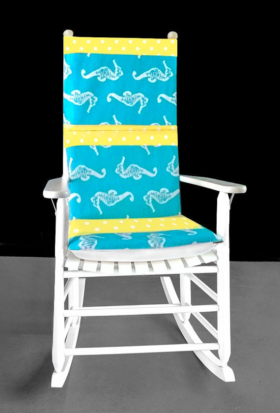 Pleasant Seahorses Rocking Chair Cushion Cover Nursery Chair Covers Unemploymentrelief Wooden Chair Designs For Living Room Unemploymentrelieforg