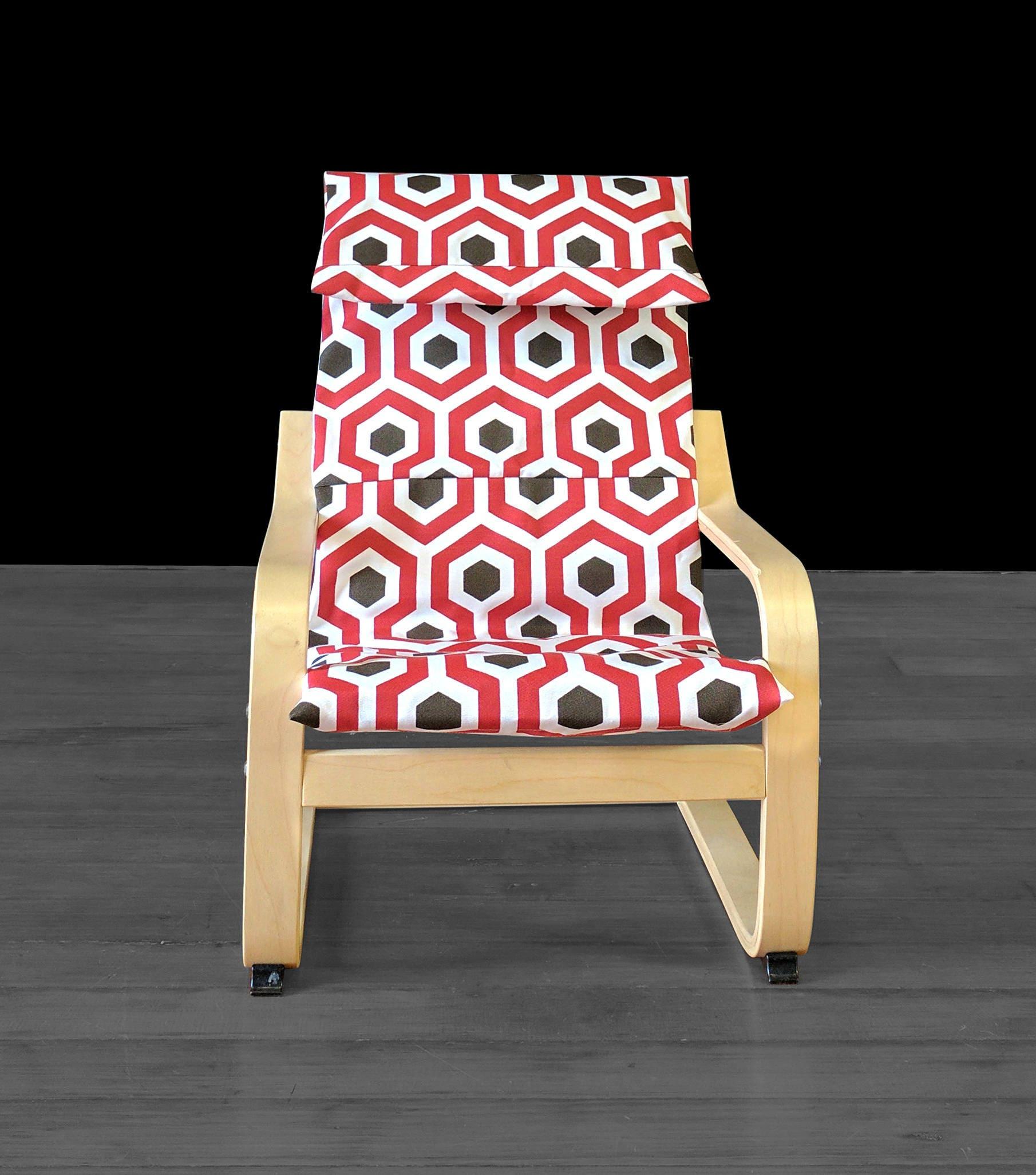 rot braun sechseck ikea kinder po ng kissen betttuch magna etsy. Black Bedroom Furniture Sets. Home Design Ideas