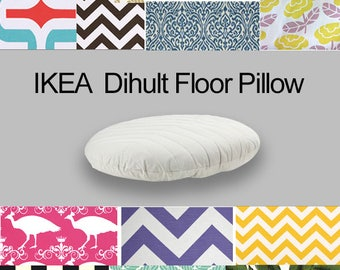 Custom Dihult Slipcover Customized Ikea Floor Pillow Covers