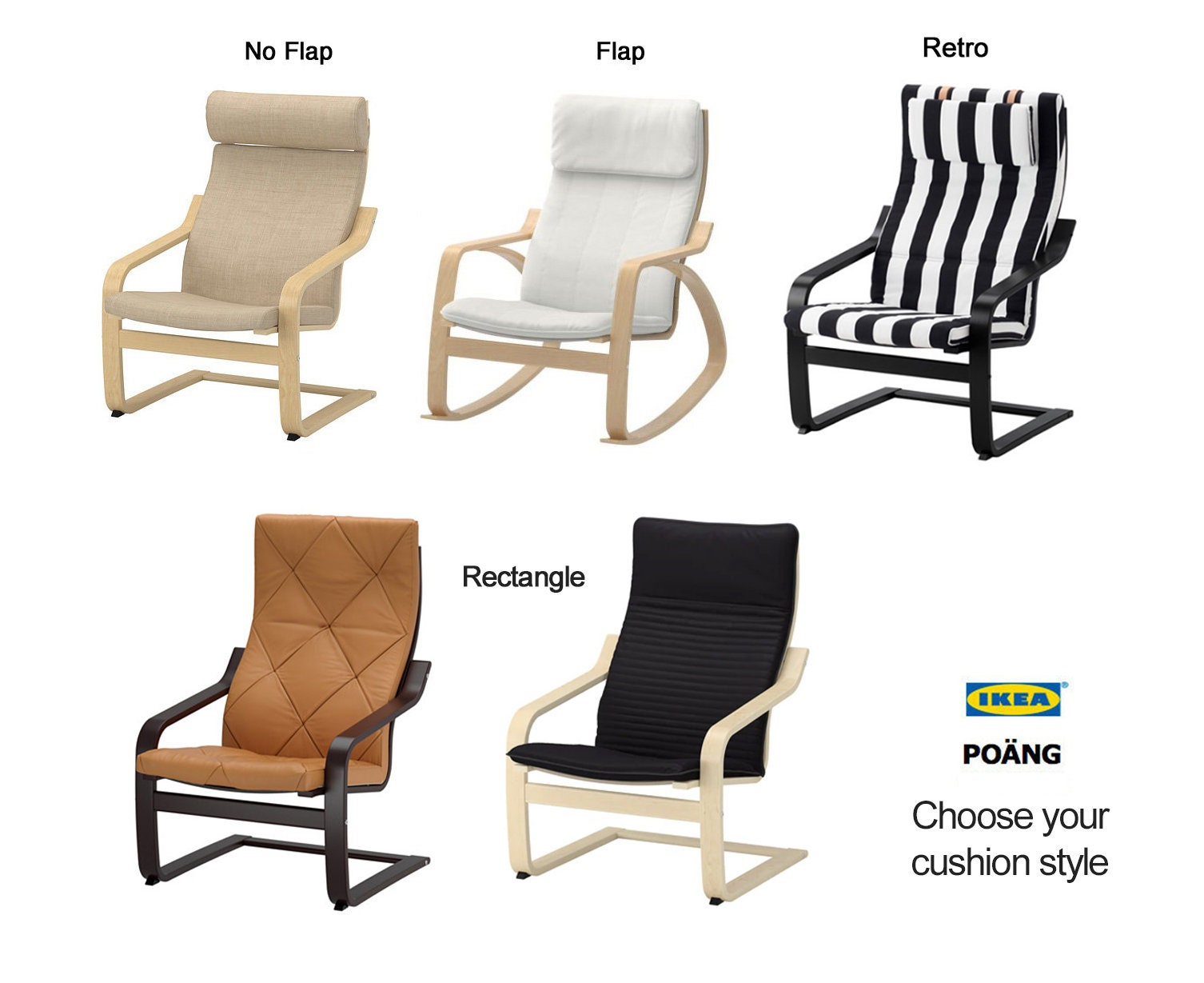 Sensational Yellow Vine Bold Pattern Ikea Poang Chair Cover Evergreenethics Interior Chair Design Evergreenethicsorg