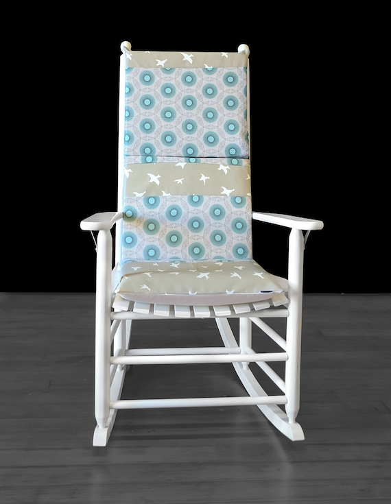 Stupendous Flying Birds Rocking Chair Cushion Squirreltailoven Fun Painted Chair Ideas Images Squirreltailovenorg