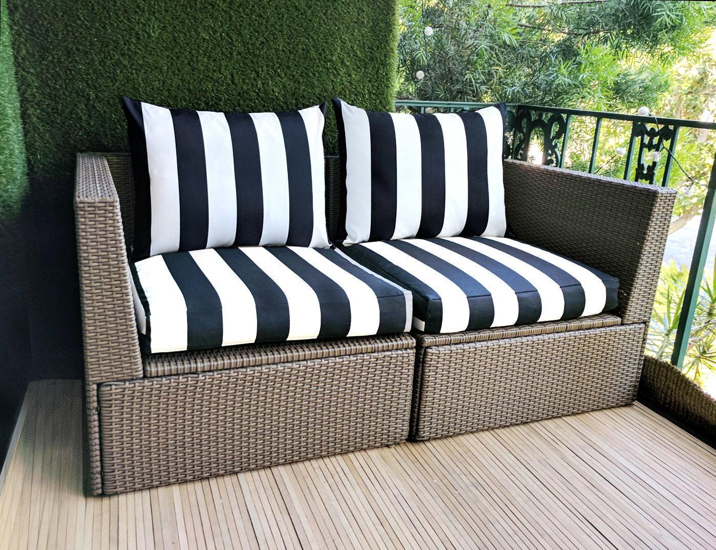 ikea hallo kungso outdoor slip cover ikea cushion covers etsy. Black Bedroom Furniture Sets. Home Design Ideas