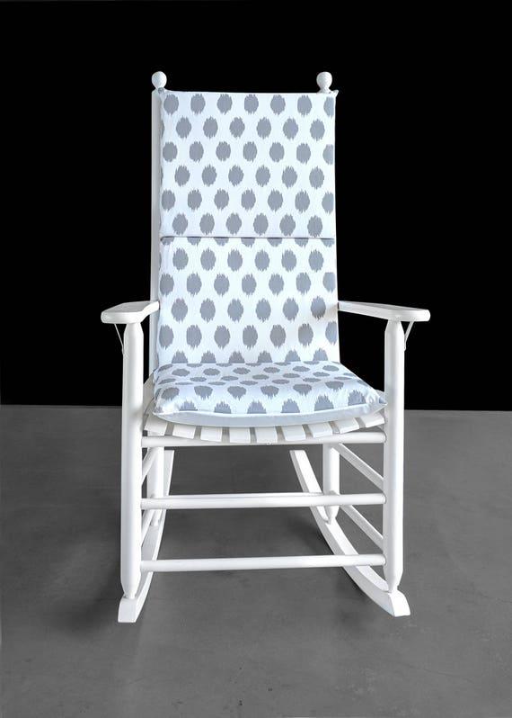 Marvelous Gray Polka Dot Rocking Chair Cover Foam Inserts Uwap Interior Chair Design Uwaporg