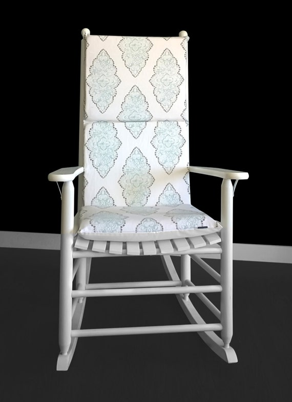 Astonishing Patterned Rocking Chair Cushion Creativecarmelina Interior Chair Design Creativecarmelinacom