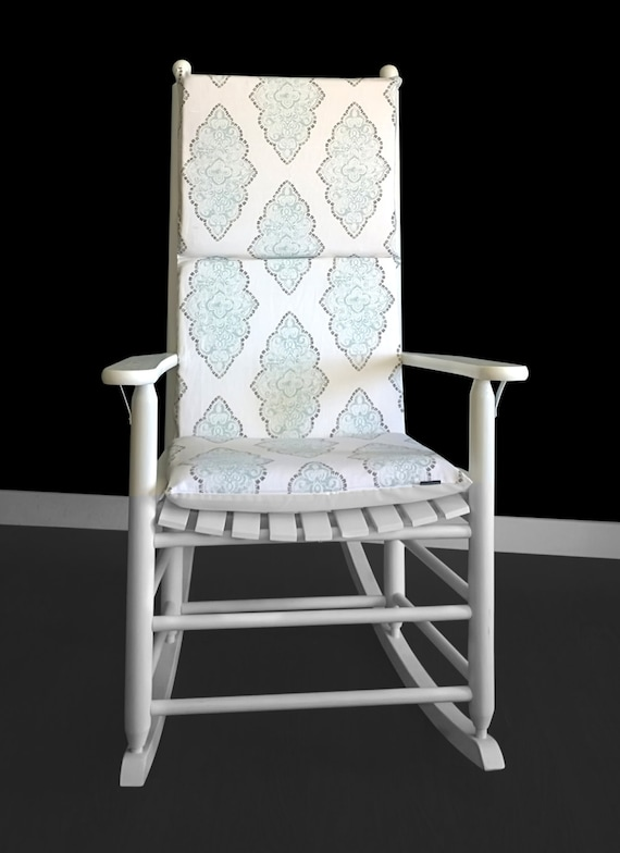 Patterned Rocking Chair Cushion Etsy