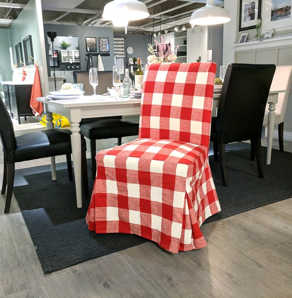 Miraculous Ikea Henriksdal Dining Chair Cover Red Buffalo Check Traditional Style Henriksdal Slipcover Gmtry Best Dining Table And Chair Ideas Images Gmtryco