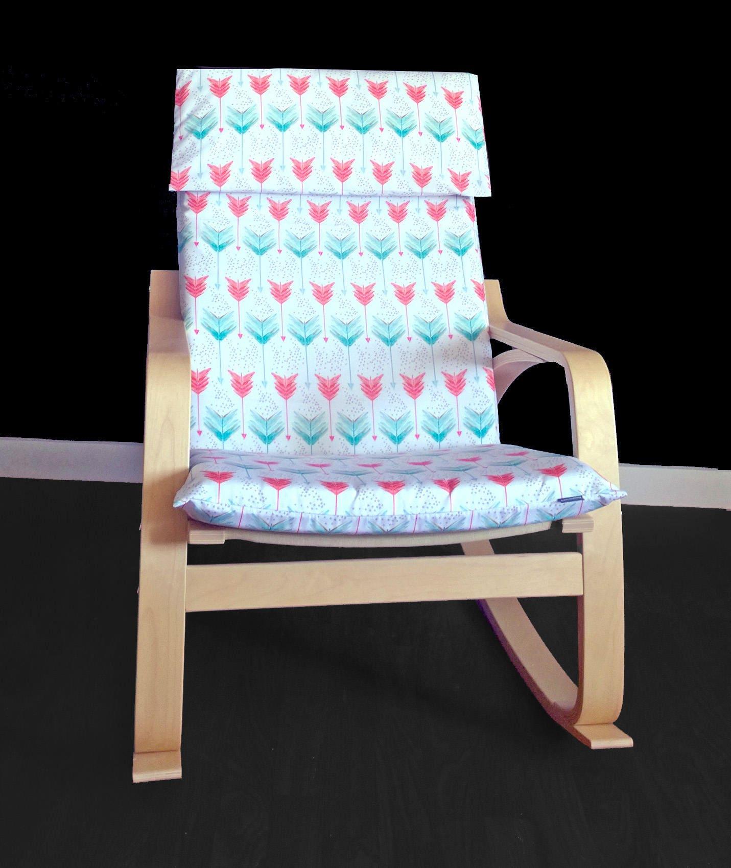 ikea po ng custom cushion slipcover unique ikea decor etsy. Black Bedroom Furniture Sets. Home Design Ideas
