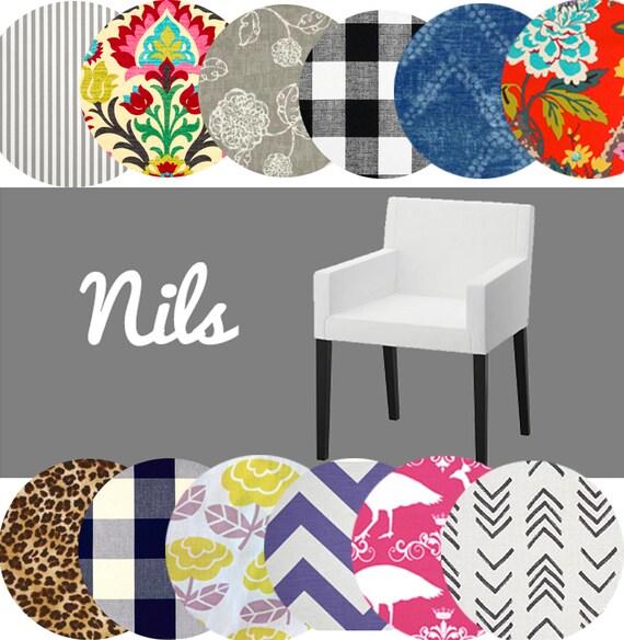 Tremendous Ikea Nils Chair Slip Cover Unique Multiple Prints Pdpeps Interior Chair Design Pdpepsorg