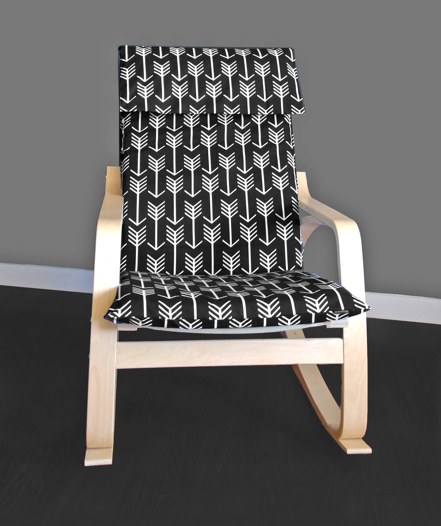 custom ikea chair covers ikea po ng arrow cushion seat cover. Black Bedroom Furniture Sets. Home Design Ideas