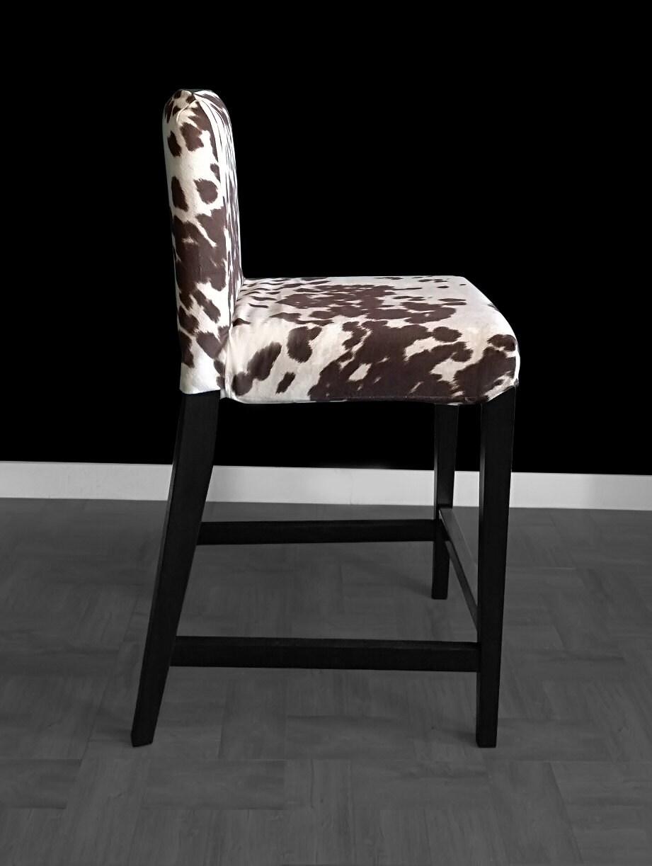 Amazing Ikea Henriksdal Bar Stool Chair Cover Cow Print Ikea Slip Dailytribune Chair Design For Home Dailytribuneorg