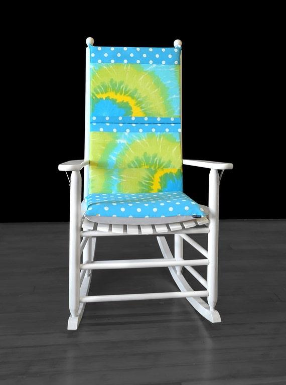 Super Turquoise Tie Dye Rocking Chair Cover Creativecarmelina Interior Chair Design Creativecarmelinacom