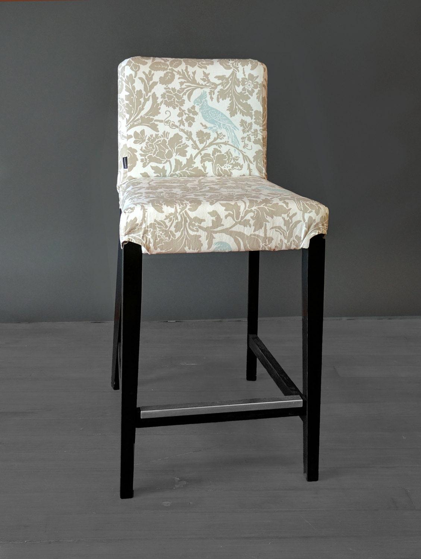 Cockatoo Custom Ikea Henriksdal Bar Stool Chair Cover Etsy