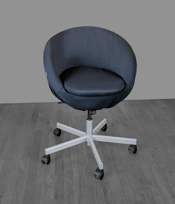 Solide Noir Ikea Skruvsta Chaise Housse