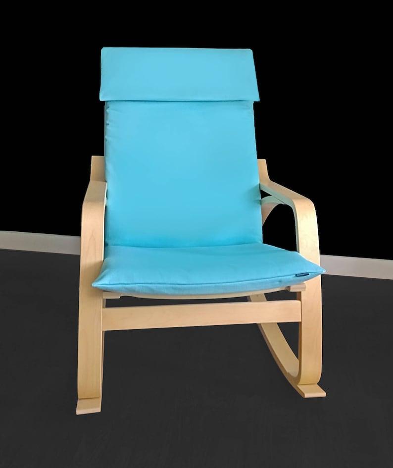 Bleu Housse Prêt Chaise À ExpédierEtsy Lumière Ikea De Poäng AR3L54j