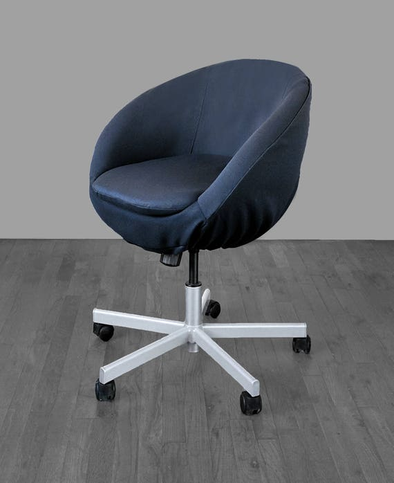 Pleasing Solid Black Ikea Skruvsta Chair Slip Cover Gmtry Best Dining Table And Chair Ideas Images Gmtryco
