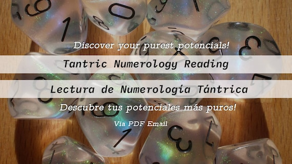 Tantric Numerology Reading | In depth Reading Via PDF | Full Numerology Report | Discover your Highest Potentials with your sacred numbers