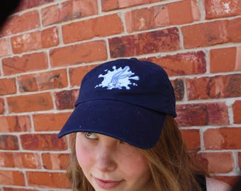 Vintage 1990s Embroidered Blue Bugs Bunny Paint Splatter Six Flags Retro  Hat Baseball   Ball Cap Adjustable Hipster One Size Fits Most 8ae74442853