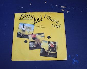 Vintage 1980s (1983) Vinyl Record Billy Joel - Uptown Girl Single 45 RPM Careless Talk