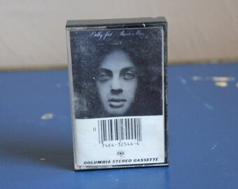 Vintage Cassette Tape Billy Joel - Piano Man