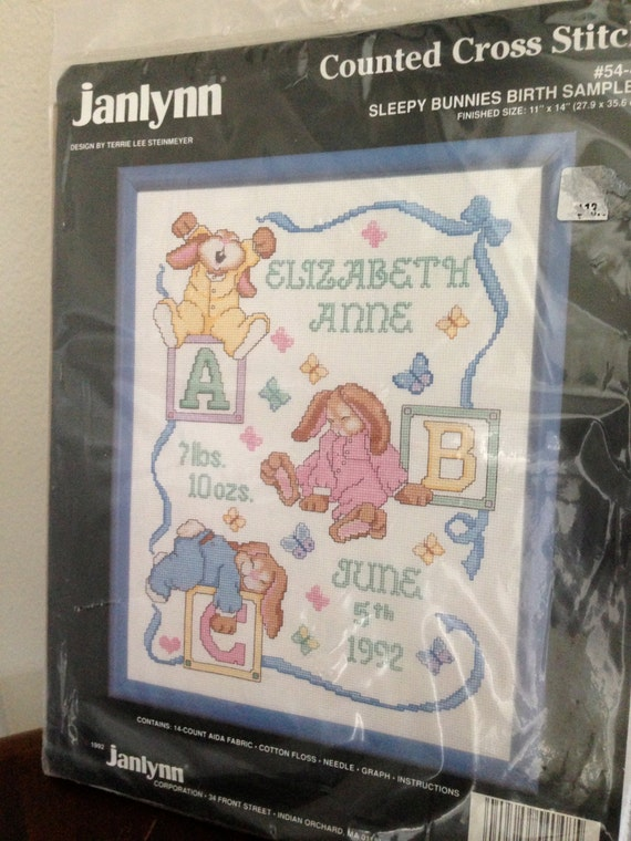 Cross Stitch Kit Bunny art S-35