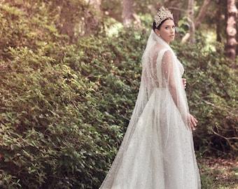 Modern Queen Gown