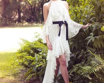 High Low Wedding Dress (Sample Sale)