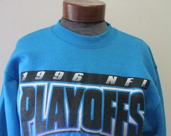 Vintage Pro Player Carolina Panthers Sweatshirt Size Medium 1996 61478b7d6