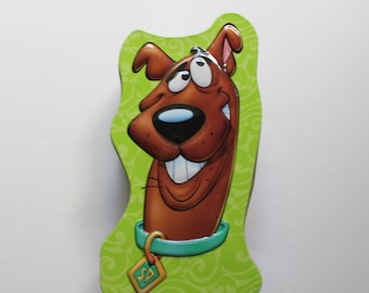 What Would Scooby Doo Classic Tin Metal Sign 16 x 13in Scooby Doo