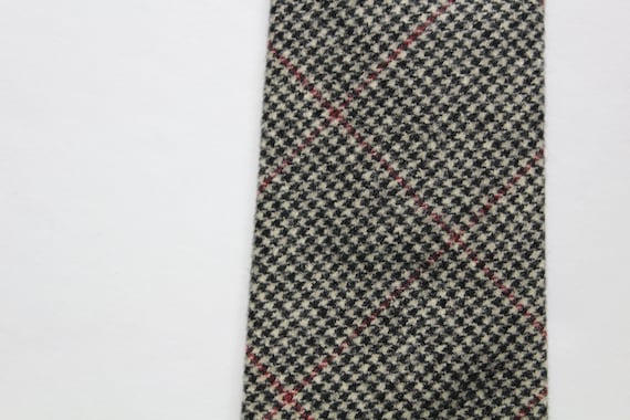 Vintage Polo By Ralph Lauren Houndstooth Wool Nec… - image 3