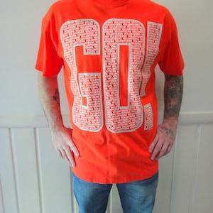 Warner Brothers Taz Novelty Shirt Vintage Navy 1998 Tennessee Volunteers Football Tshirt