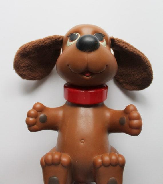 Vintage Ideal Rub-A-Dub Doggie Toy 1982 | Etsy