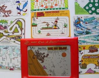 Vintage Ohio Art Etch-A-Sketch Toy 1981