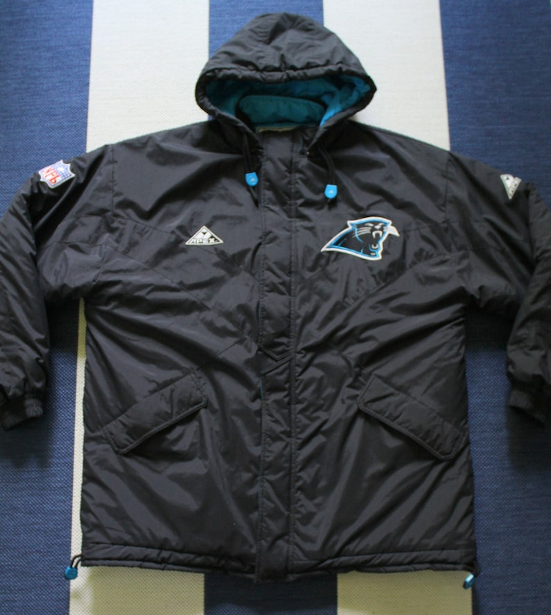 buy popular a5749 3ef8c Vintage NFL Authentic Pro Line Carolina Panthers Apex One Full-Zip Jacket  Coat 1995