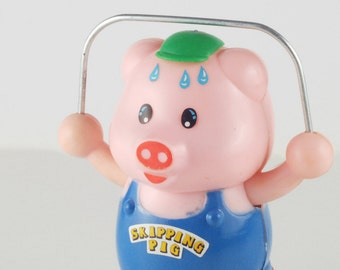 Skipping Pig - Wind up Toy