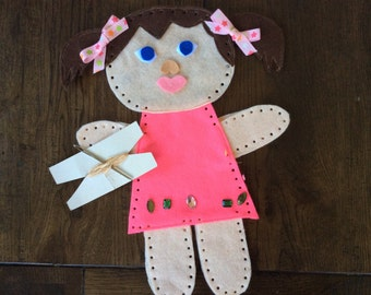 DIY Kids Doll Kit - Learn to sew