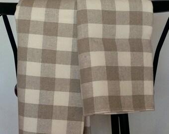 Burlap Linen Prewashed Linen Beach Towel Bath Towel Spa Towel Linen Bath Towel Pure Linen Towel Linen Bath Sheet Linen Sauna Towel set of 2