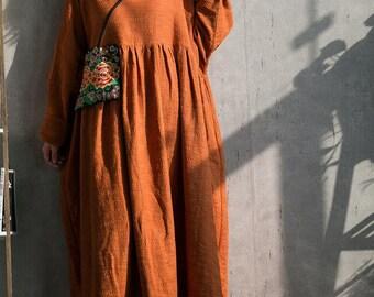 2f482a84911 Caramel colour long dress