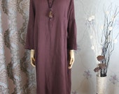 Women Loose dress, large size gown, asymmetrical dress, Kaftan, Maternity dress