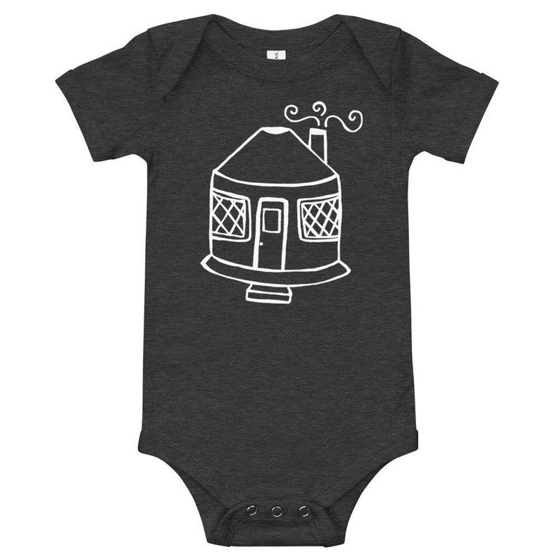 Yurt Baby Bodysuit  3 month-24 month sizes  Different Color image 0