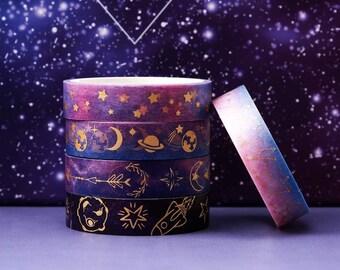 Starry Galaxy Washi Tape