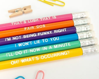 Pencils You can do this Positive message, Positive pencils Lead pencil set Believe Rainbow coloured HB Pencils Imprinted pencils