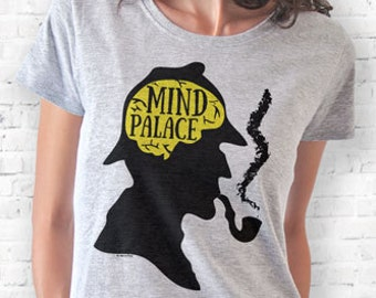 Sherlock Holmes mind palace T-shirt-Sherlock T-shirt-Sherlock tank top-women shirt-men tees-graphic tees-Christmas gift-NATURAPICTA-NPTS119