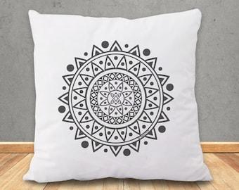 Copricuscino mandala-federa cuscino mandala-mandala-cuscino boho-cuscino personalizzato-cuscini etnici-cuscino yoga.cuscino zen-NPCP1