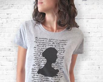Jane Austen shirt-literary shirt-Jane Austen tank top-book quote tee-persuasion shirt-cool tank top-women tees-gift idea-NATURAPICTA-NPTS057