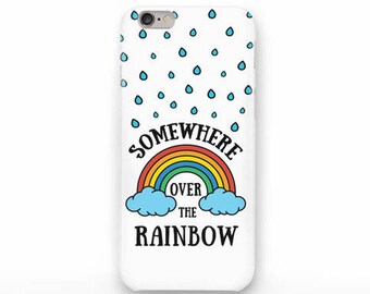 Somewhere over the rainbow iPhone X case - iPhone 8/8 Plus case- iPhone 7/7 Plus case- iPhone 6/6 Plus case- iPhone 5/5S case-Galaxy-NP3D211