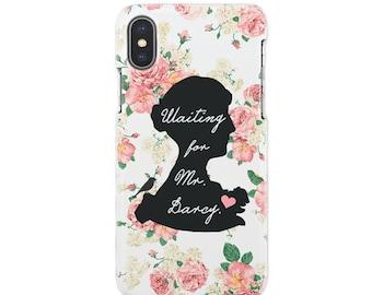 Jane Austen iPhone 12 Pro Max,12 Pro,12 mini,iPhone 12, iPhone 11 Pro Max,11 Pro,11,iPhone X case,Xs max,Xr,iPh 8/8,7/7,6/6 Plus,5/5S, SE