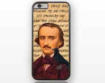 iPhone 7 case-book iPhone 7/7 Plus case-book iPhone 6/6s-Allan Poe case-Poe iPhone 5/5S-Poe Galaxy S5-S6-S7-Poe Huawei P9-Raven iPhone-NP173