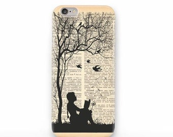 Little girl reading book iPhone 12 Pro Max,12 Pro,12 miin,12,11 Pro Max,11 Pro,11, iPhone Xs,Xs Max,Xr,iPhone 8/8,7/7,6/6 Plus,5/5S, SE