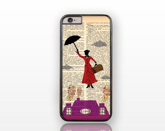 Mary Poppins iPhone 7/7Plus-Mary Poppins iPhone 6/6s/6 plus case-Poppins iPhone 5/5S-Galaxy S4/S5/S6/S7 case-Hauwei 9-Natura Picta-NP019