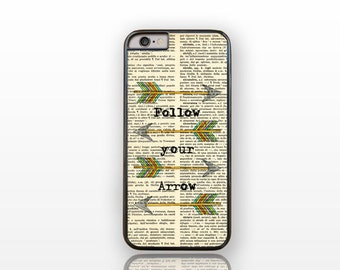 Follow your arrow quote iPhone 6/6s case -iPhone 6 plus case-iPhone case 5/5S -Galaxy S5 case-Galaxy S6-iPhone 4 case- by Natura Picta-NP131